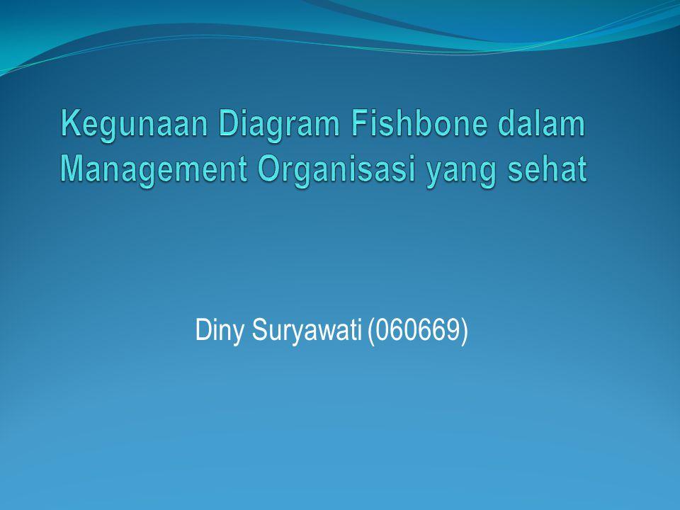 Kegunaan Diagram Fishbone dalam Management Organisasi yang sehat