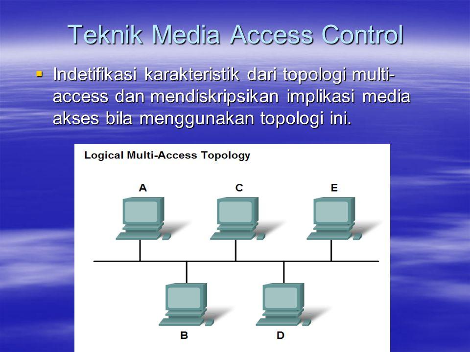 Teknik Media Access Control