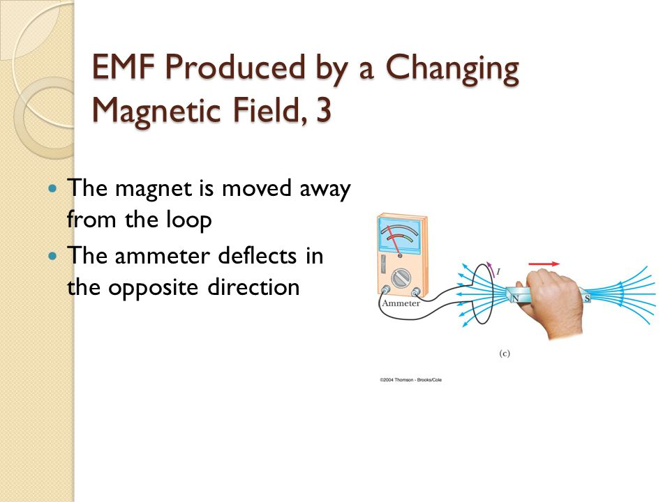 EMF Produced by a Changing Magnetic Field, 3