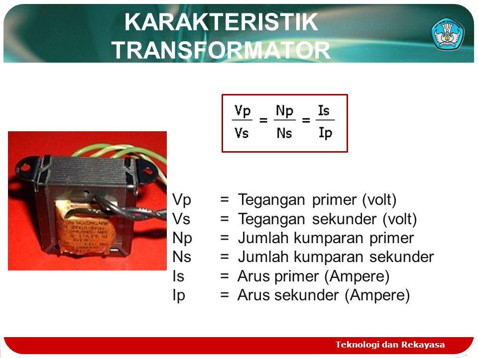 KARAKTERISTIK TRANSFORMATOR
