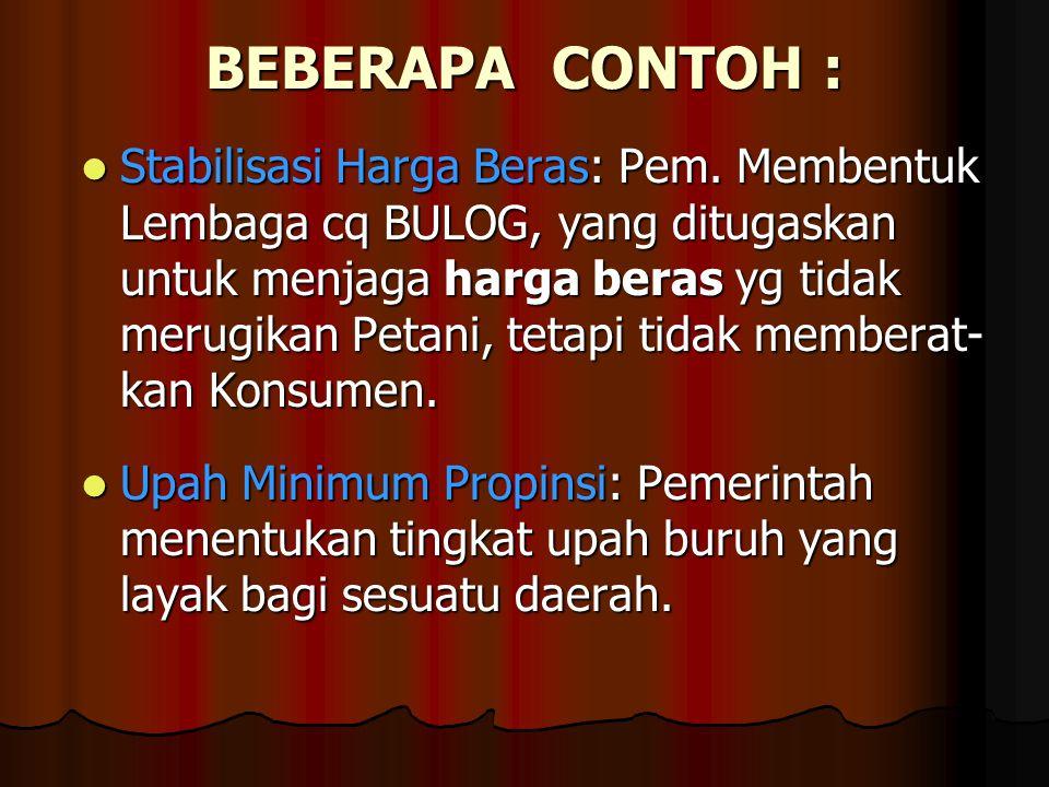 BEBERAPA CONTOH :