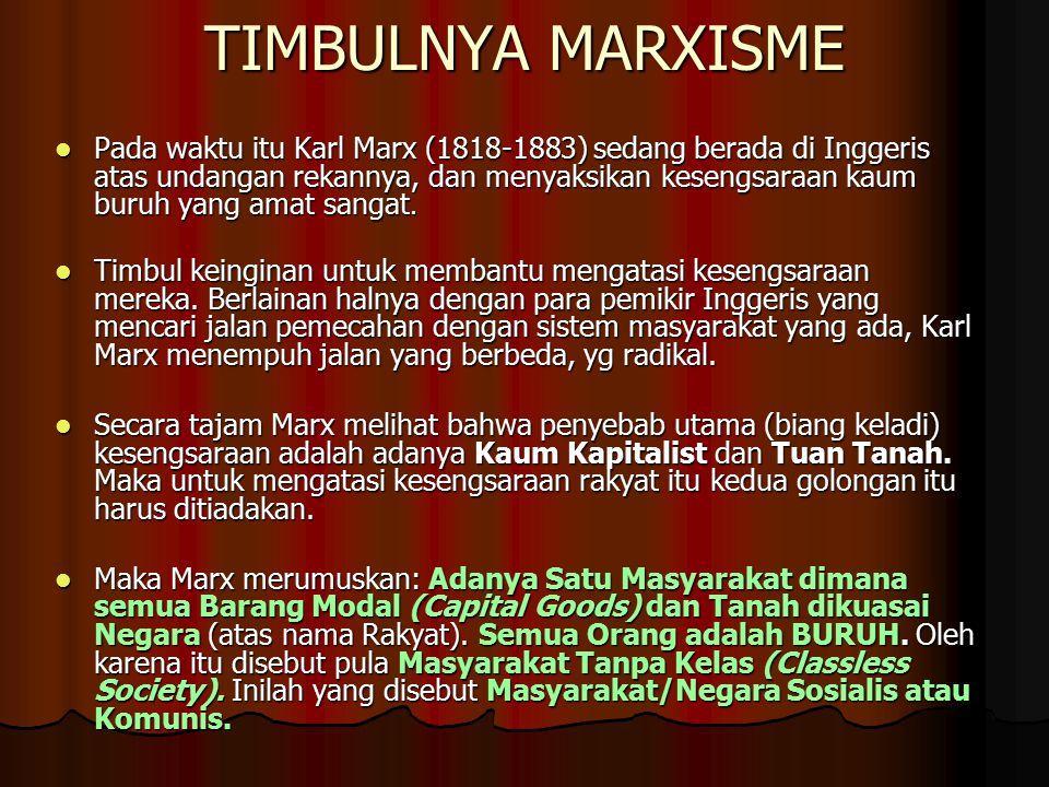 TIMBULNYA MARXISME