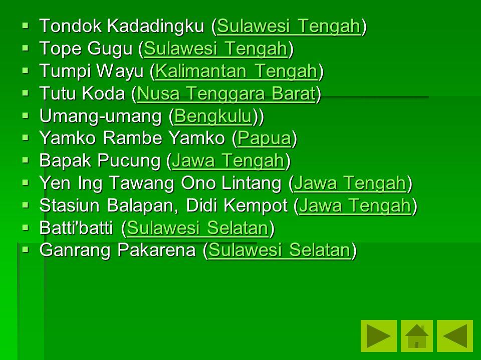 Tondok Kadadingku (Sulawesi Tengah)