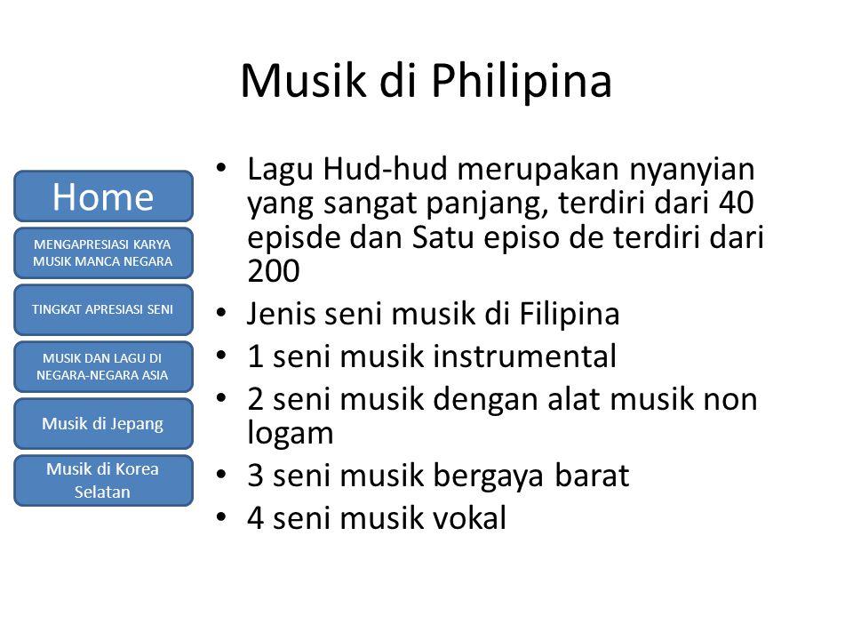 Musik di Philipina Home