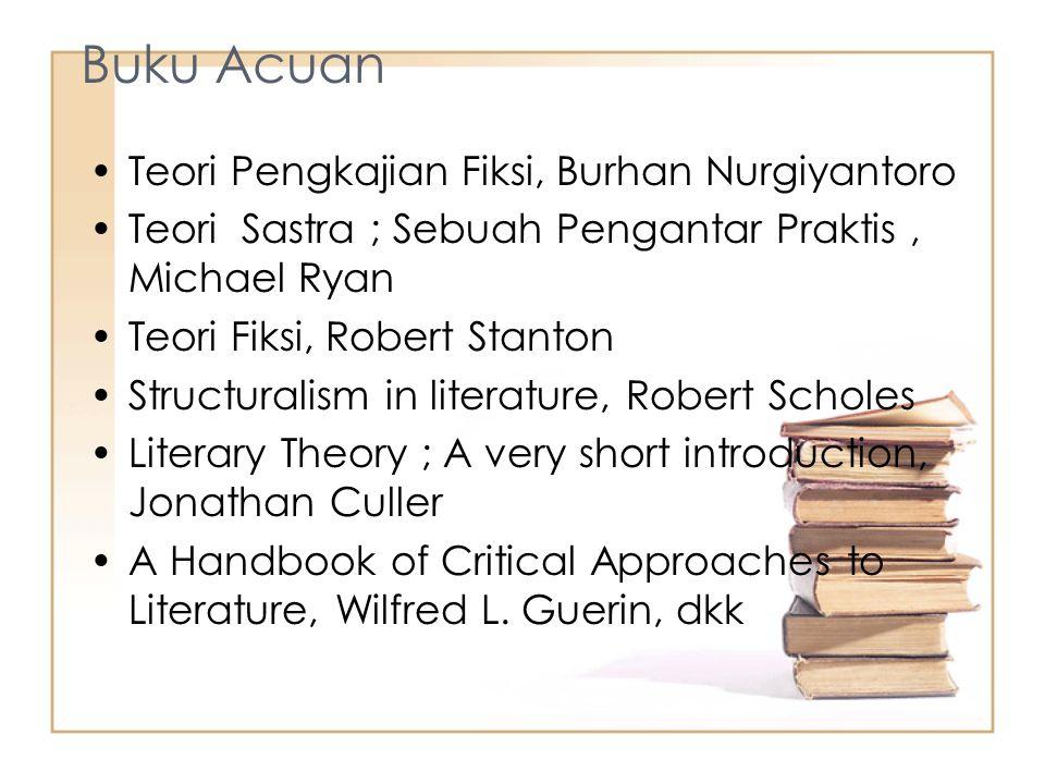 Buku Acuan Teori Pengkajian Fiksi, Burhan Nurgiyantoro