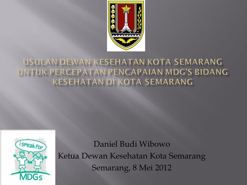 Ketua Dewan Kesehatan Kota Semarang