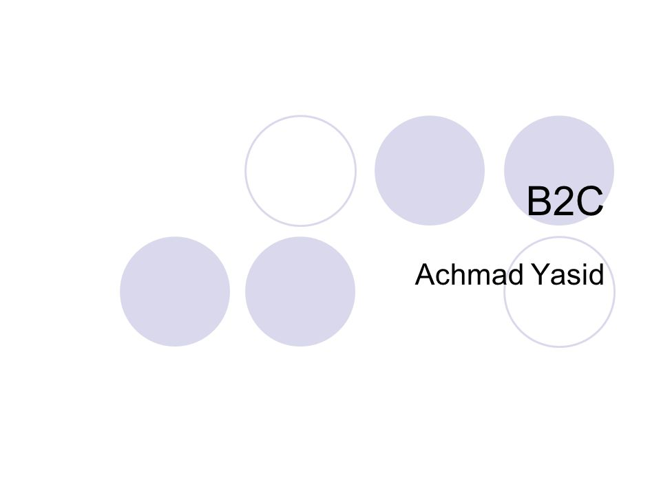 B2C Achmad Yasid