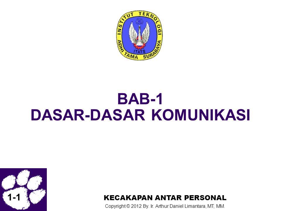 BAB-1 DASAR-DASAR KOMUNIKASI