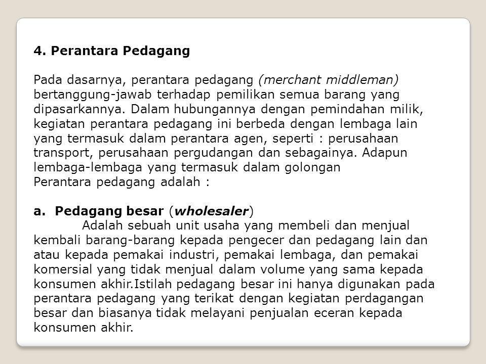 4. Perantara Pedagang