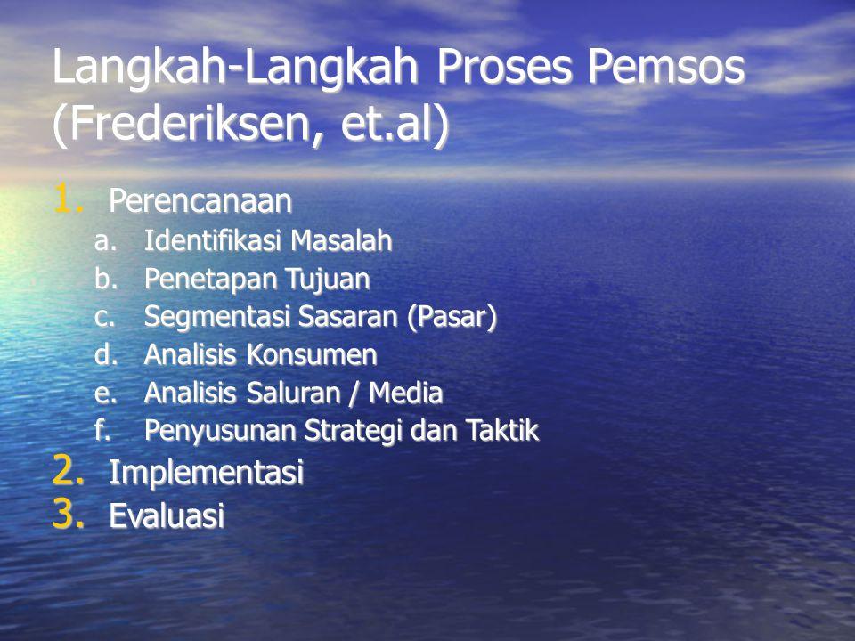 Langkah-Langkah Proses Pemsos (Frederiksen, et.al)
