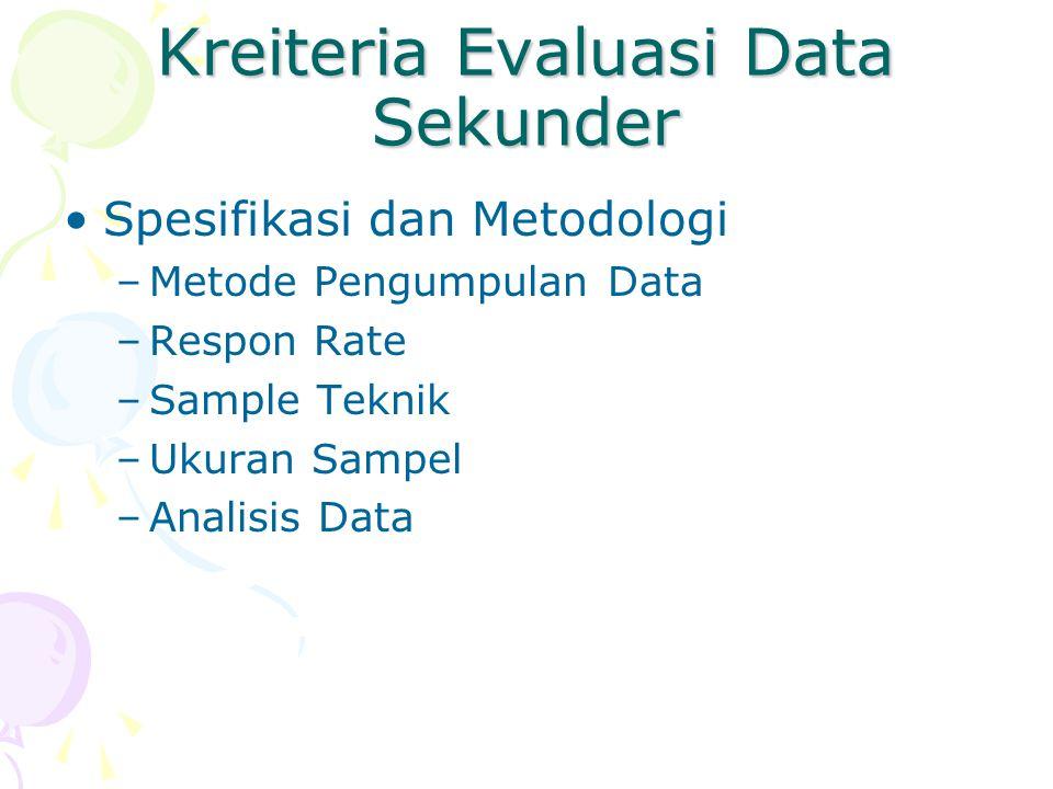 Perbedaan Data Primer dan Sekunder