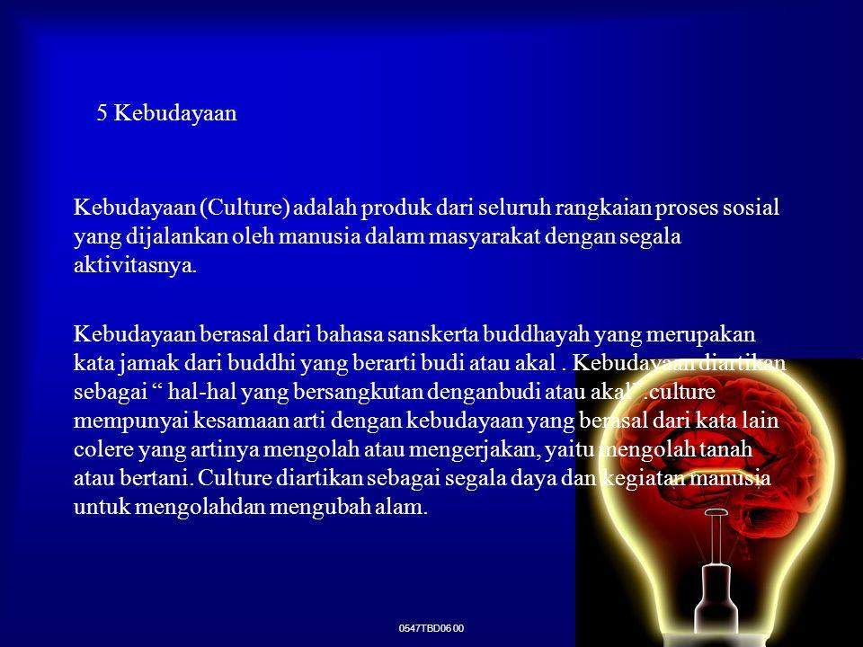 5 Kebudayaan