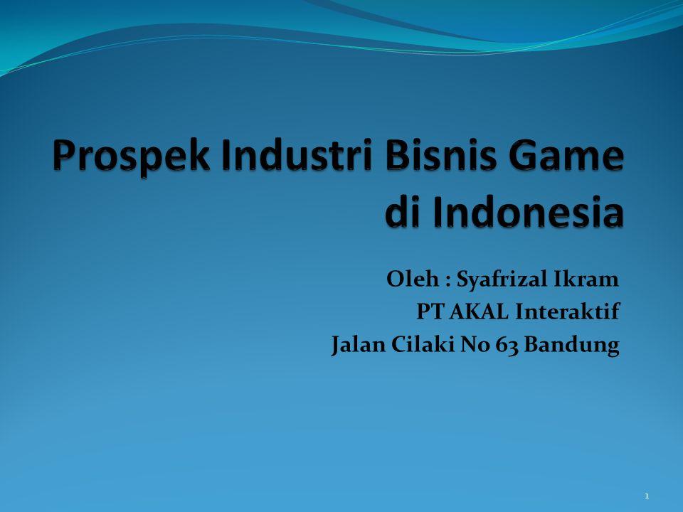 Prospek Industri Bisnis Game di Indonesia