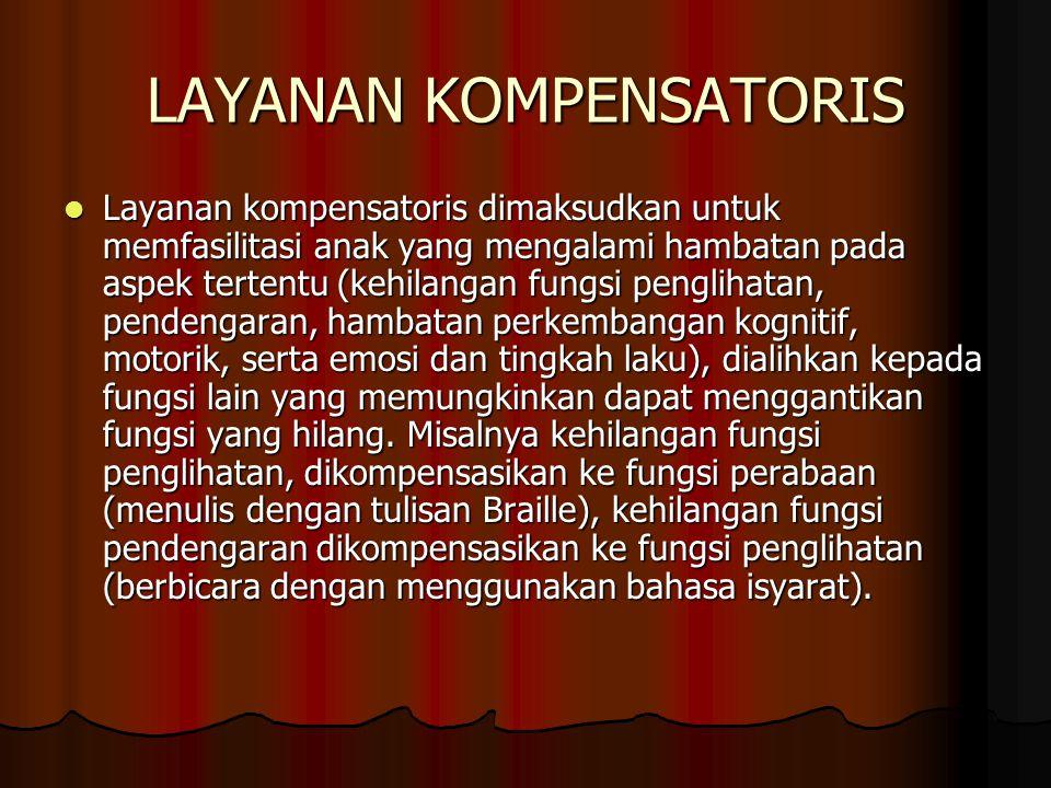 LAYANAN KOMPENSATORIS