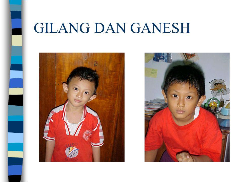 GILANG DAN GANESH