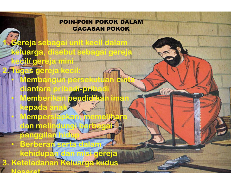 POIN-POIN POKOK DALAM GAGASAN POKOK