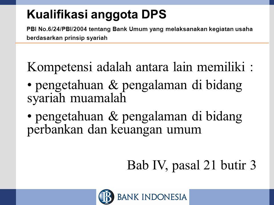 Kompetensi adalah antara lain memiliki :