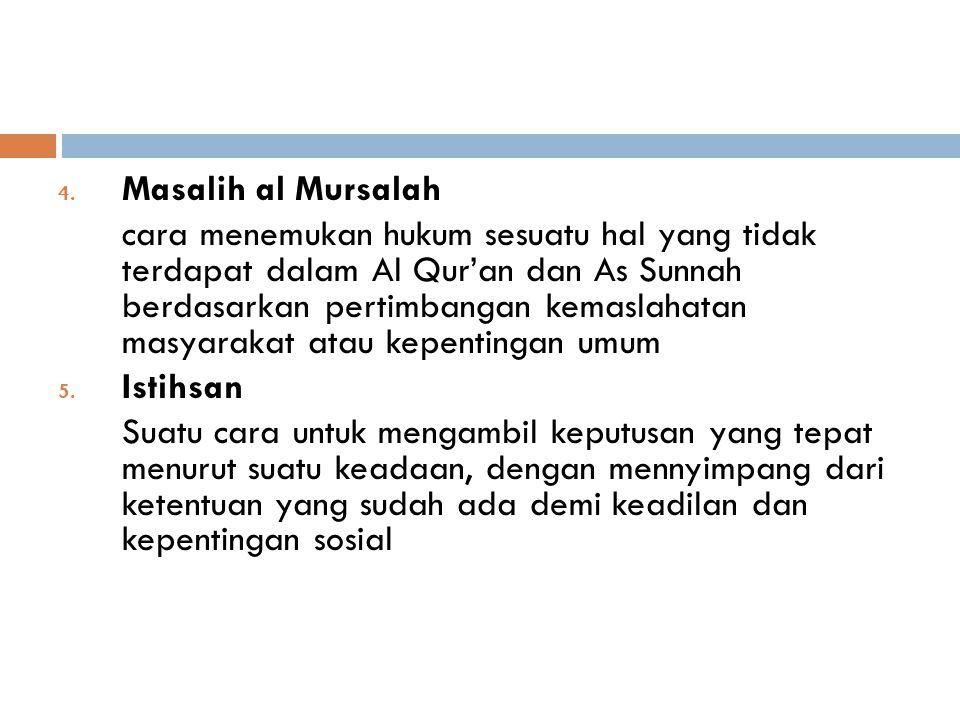 Masalih al Mursalah