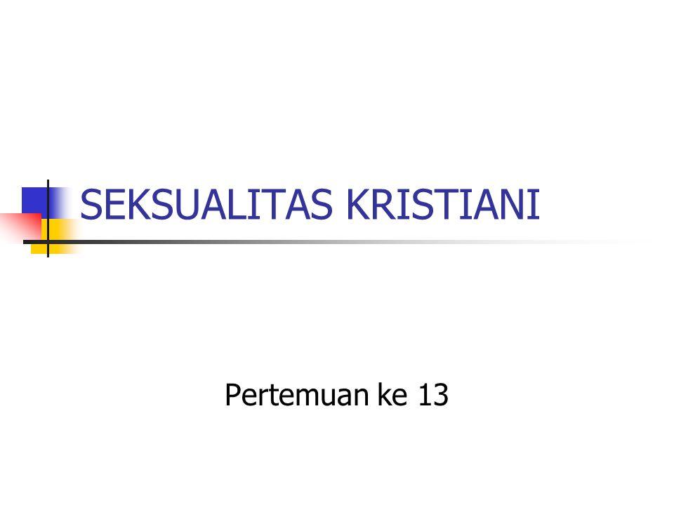 SEKSUALITAS KRISTIANI