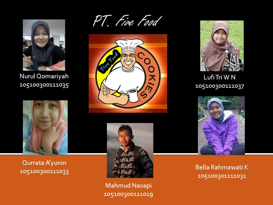 PT. Five Food Nurul Qomariyah 105100300111035