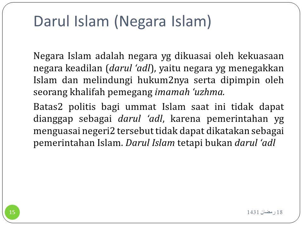 Darul Islam (Negara Islam)