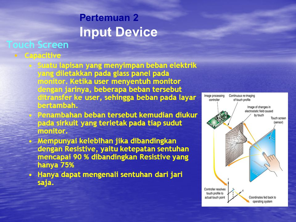 Input Device Pertemuan 2 Touch Screen Capacitive