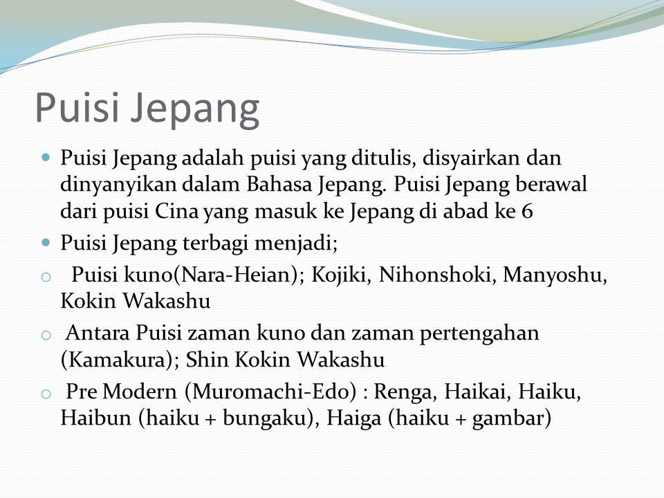 Puisi Jepang