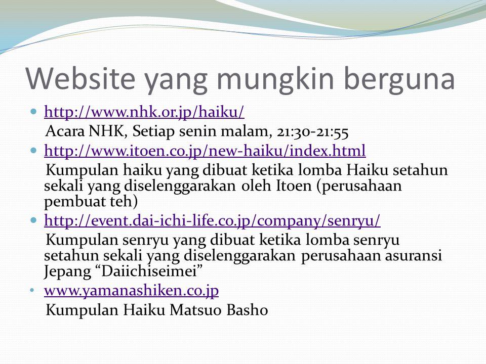 Website yang mungkin berguna