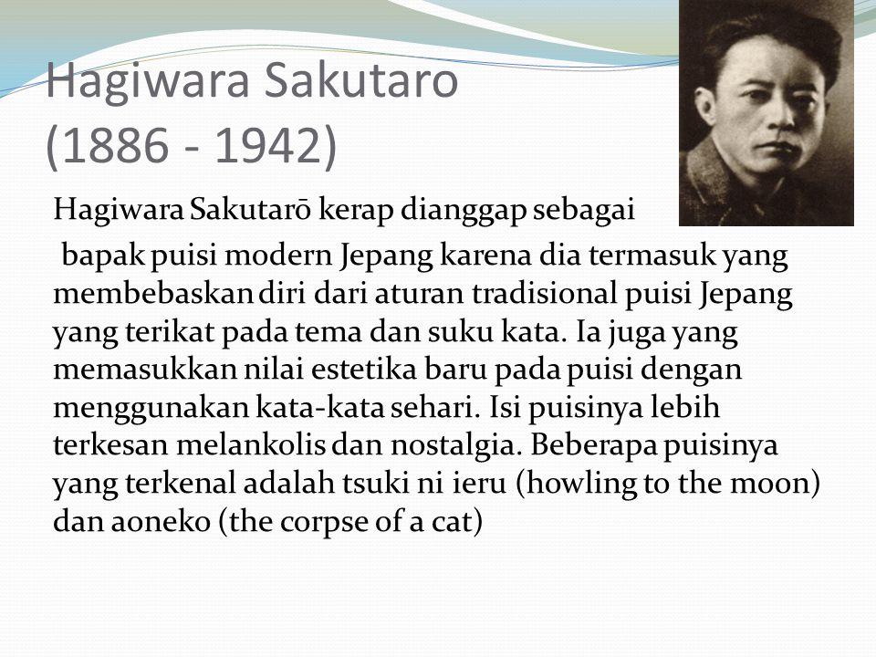 Hagiwara Sakutaro (1886 - 1942)