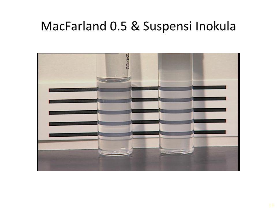 MacFarland 0.5 & Suspensi Inokula