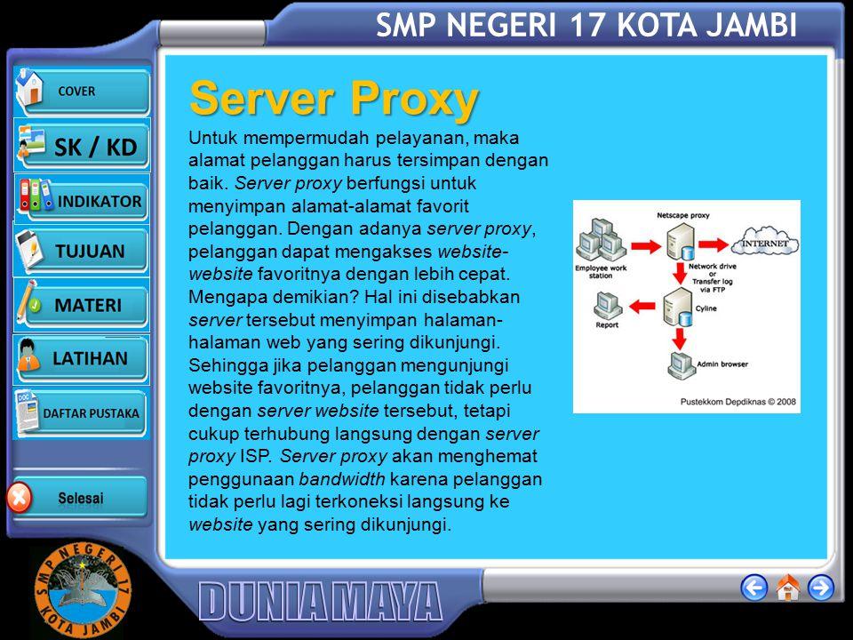 Server Proxy