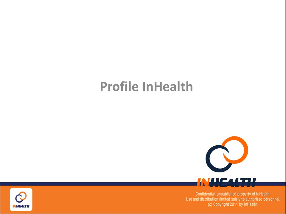 Profil InHealth Profile InHealth 6