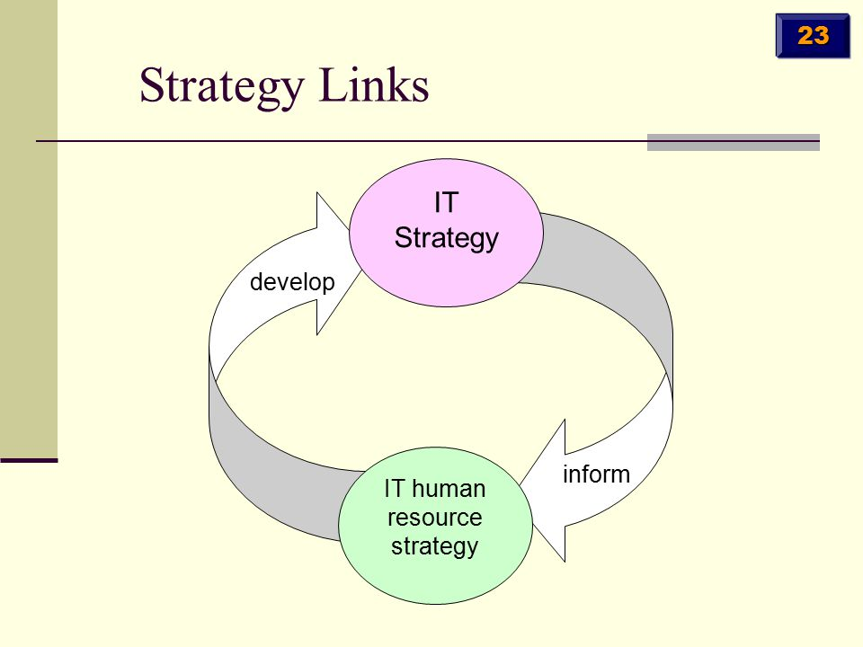 IT human resource strategy