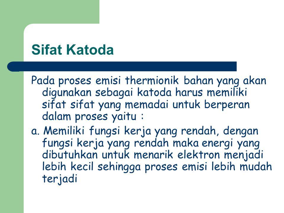 Sifat Katoda