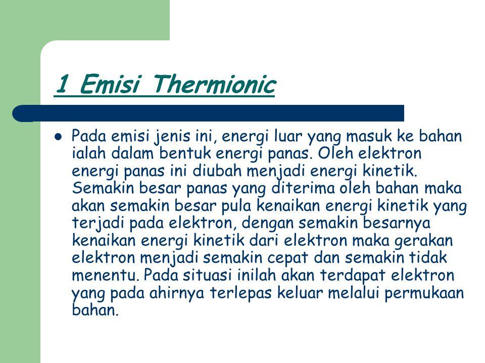 1 Emisi Thermionic