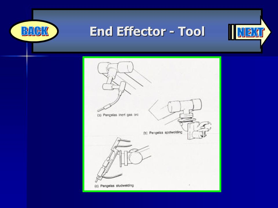 End Effector - Tool NEXT BACK
