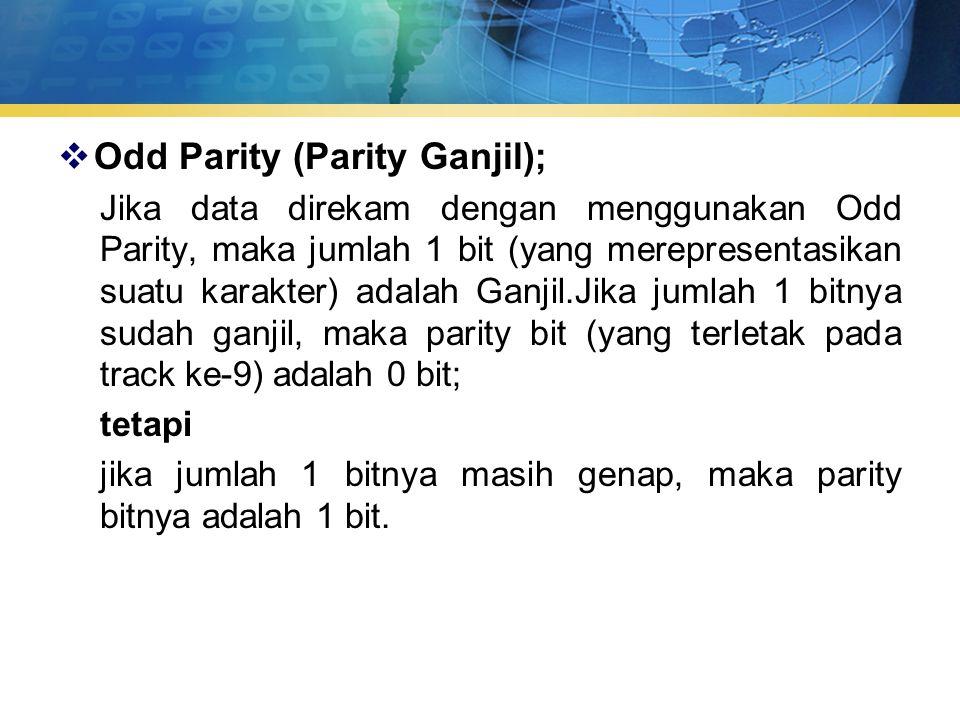 Odd Parity (Parity Ganjil);