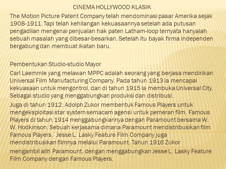 CINEMA HOLLYWOOD KLASIK