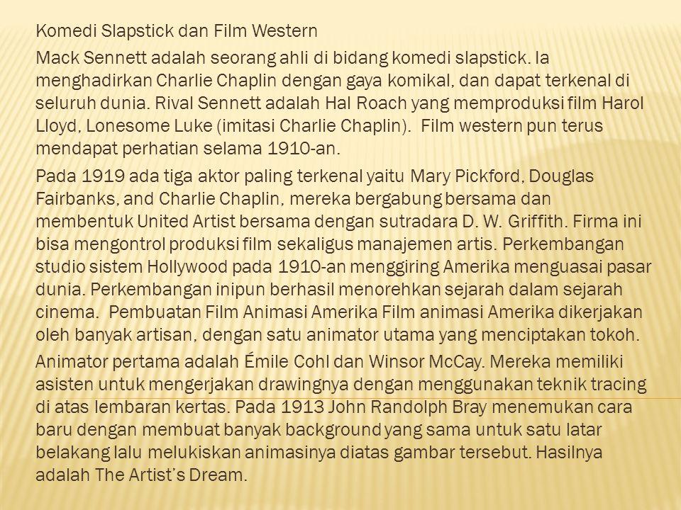 Komedi Slapstick dan Film Western