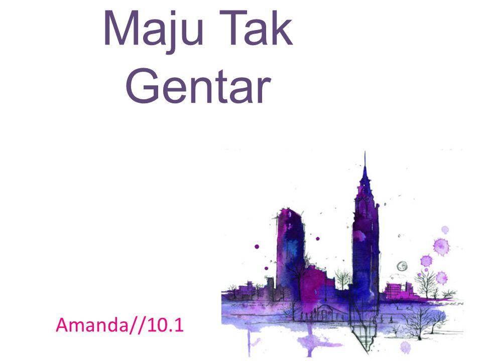 Maju Tak Gentar Key signature Amanda//10.1