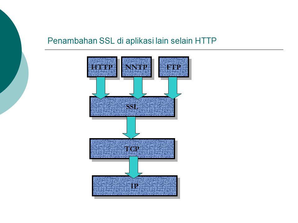 Penambahan SSL di aplikasi lain selain HTTP