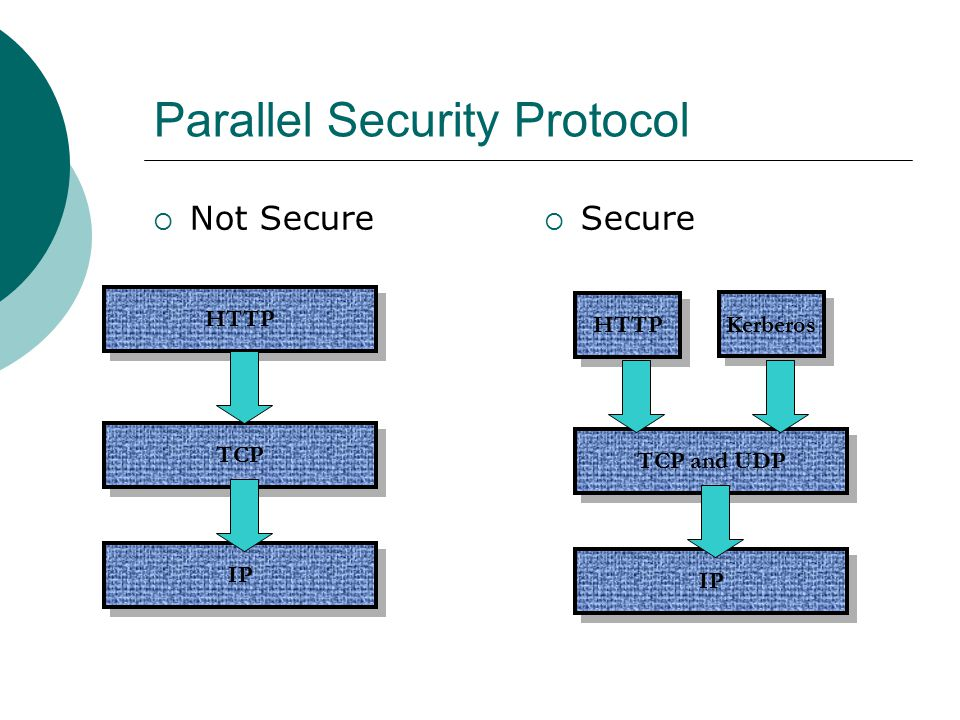 Parallel Security Protocol