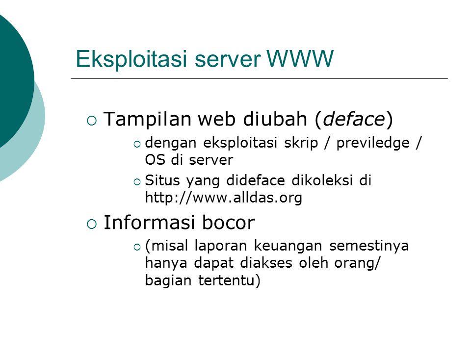 Eksploitasi server WWW