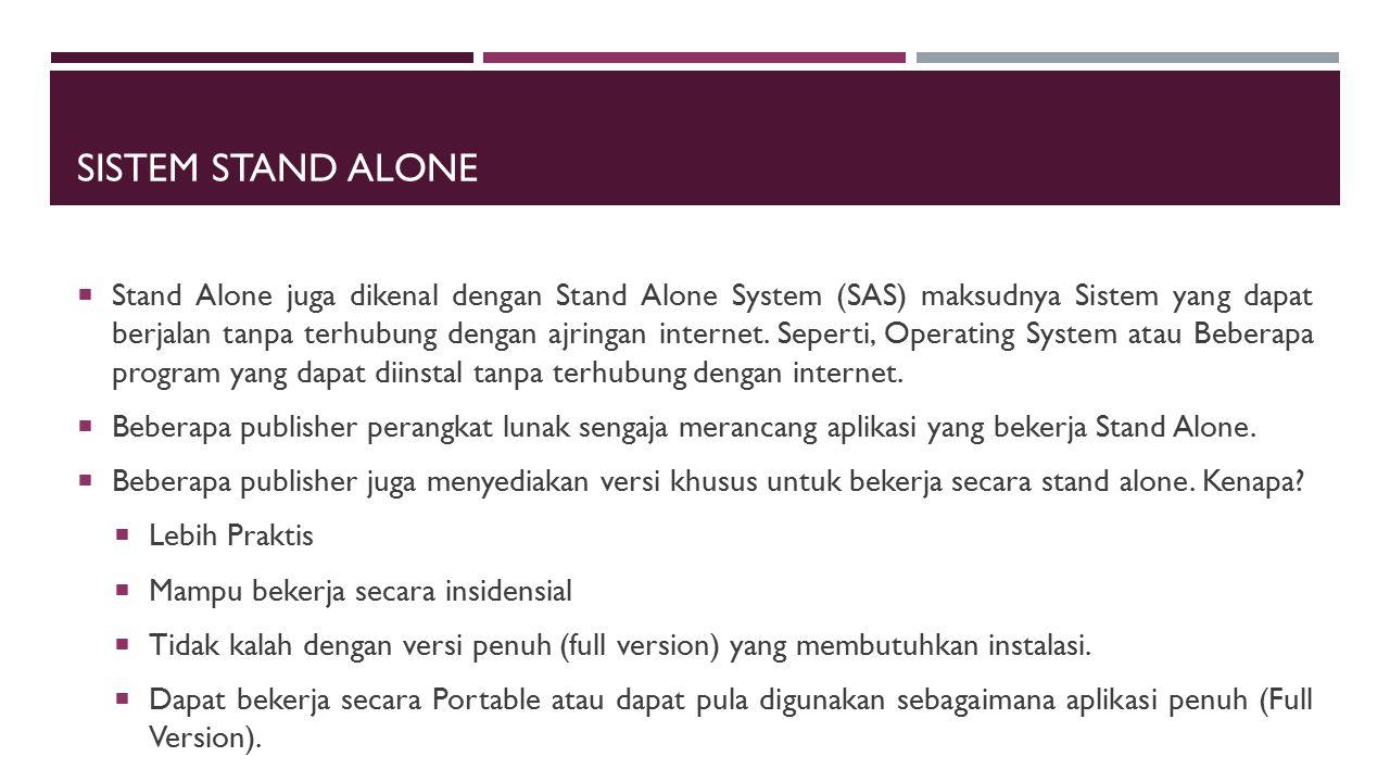Sistem Stand Alone