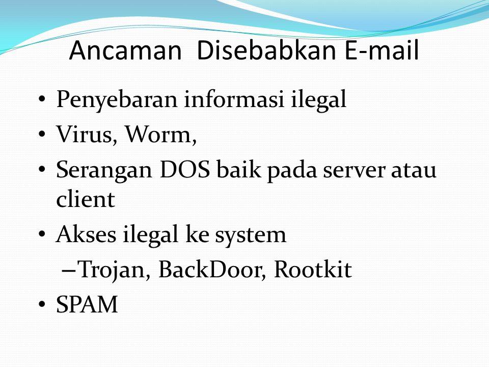 Ancaman Disebabkan E-mail