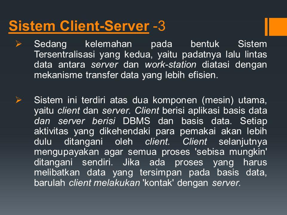 Sistem Client-Server -3