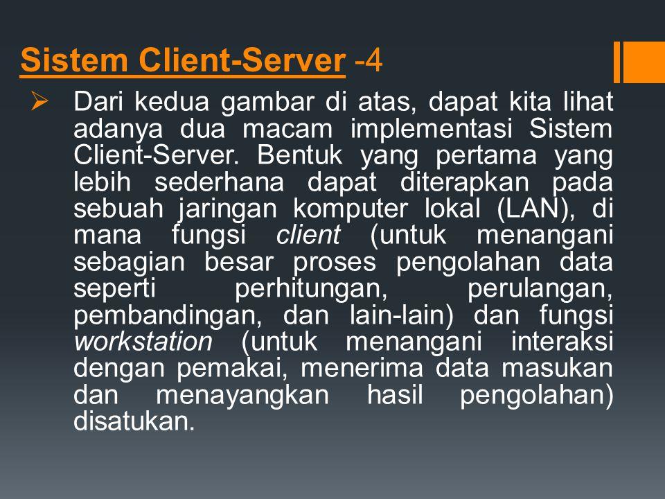 Sistem Client-Server -4