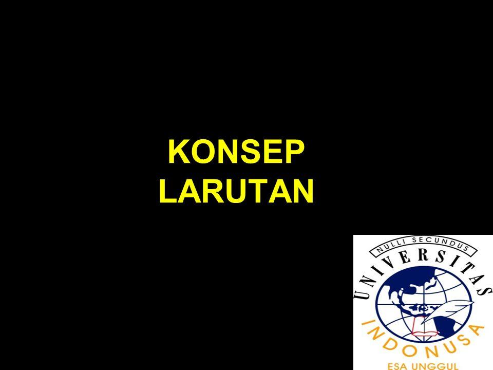 KONSEP LARUTAN