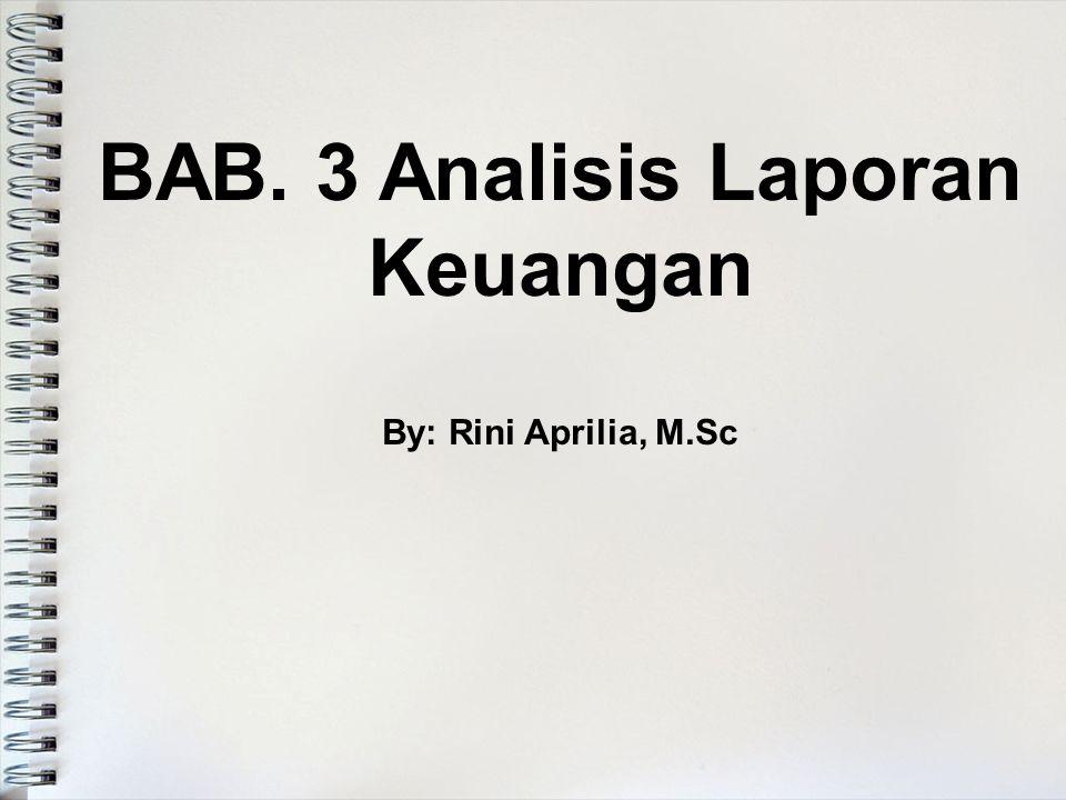 BAB. 3 Analisis Laporan Keuangan