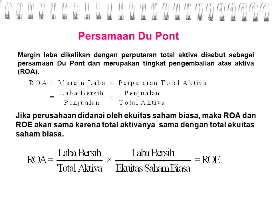 Persamaan Du Pont